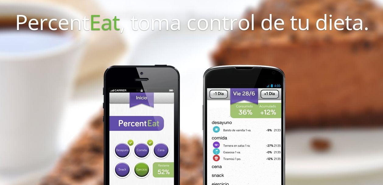 Percenteat – Aplicación móvil para controlar nuestra dieta (iPhone y Android)