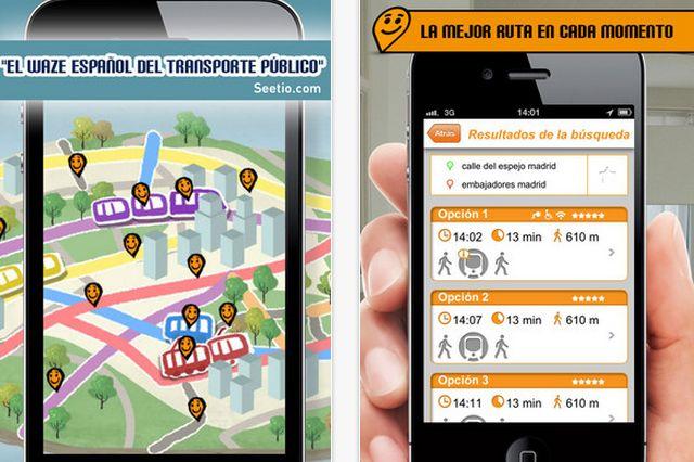 Moovit, la aplicación social de Transporte público, ya en España, Colombia, Chile y México