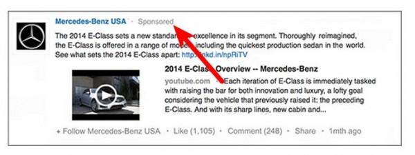 LinkedIn presenta los Posts patrocinados