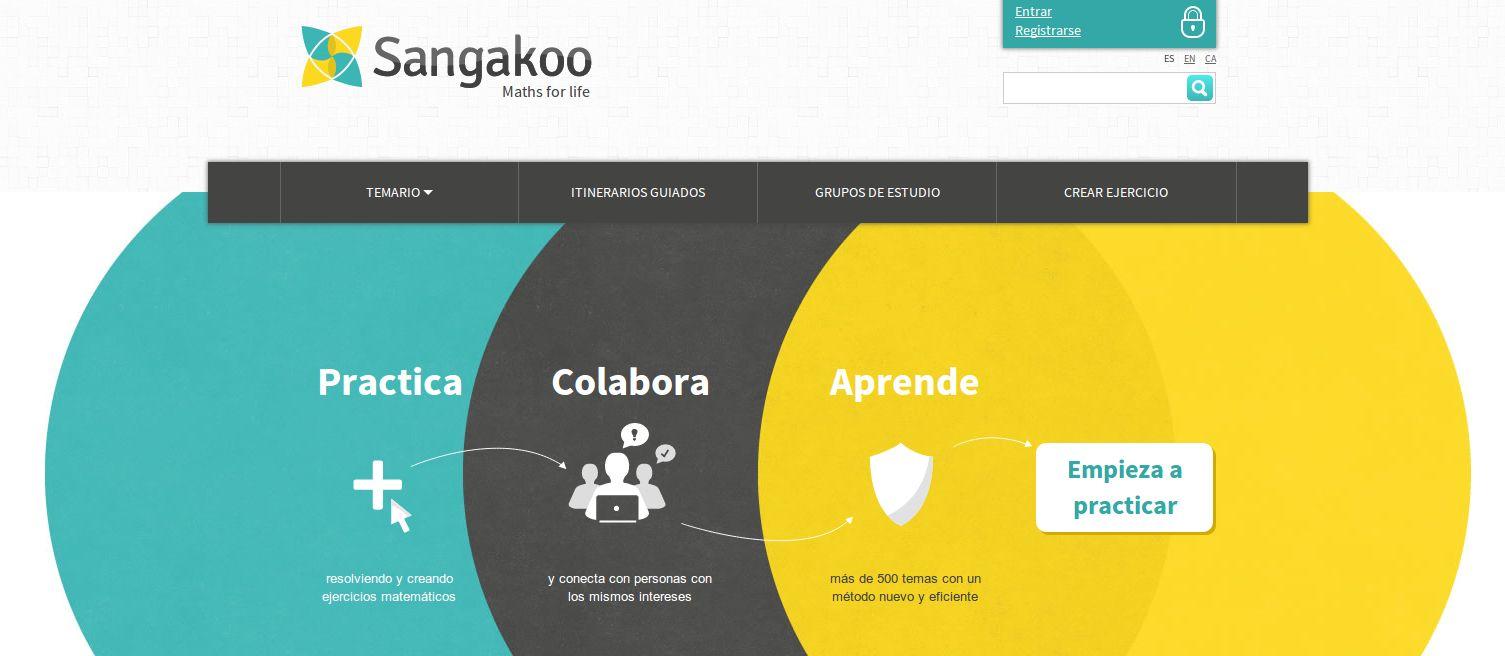 Nuevo sangakoo, para aprender matemáticas por Internet