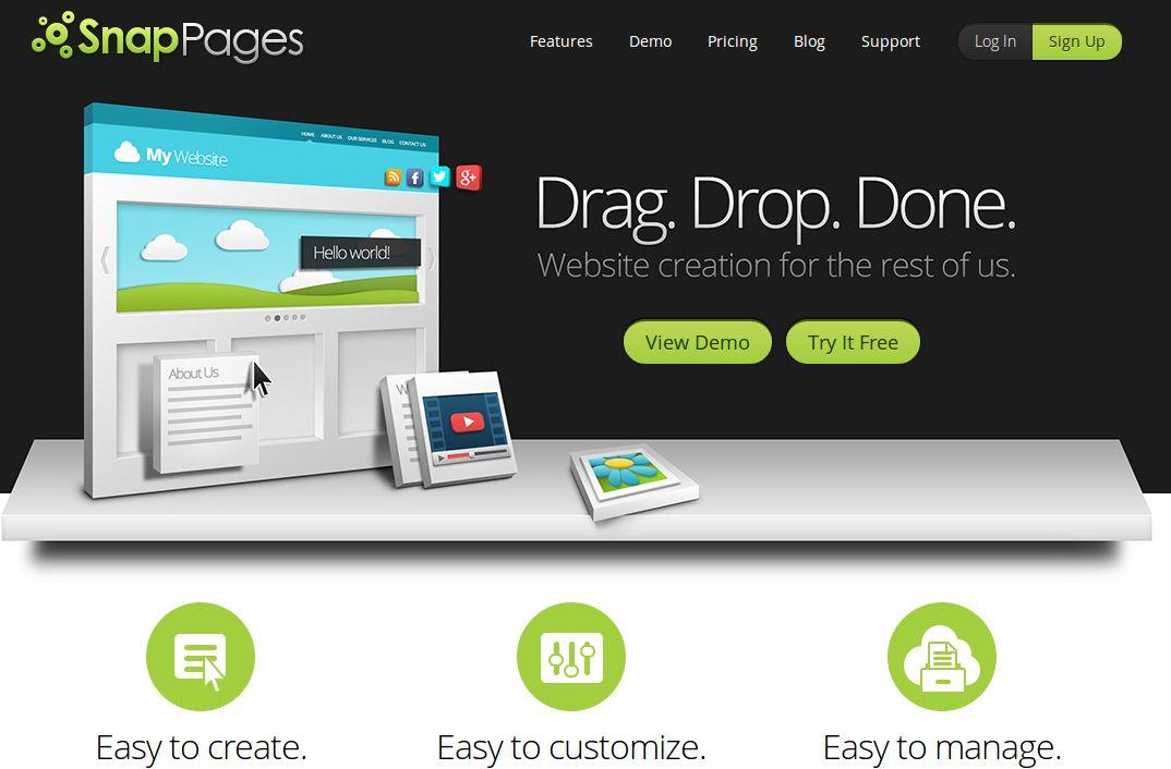 Nuevo SnapPages, para crear sitios web sin saber programar