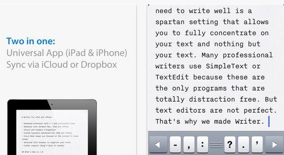 iA Writer, una de las mejores opciones para editar texto en iOS