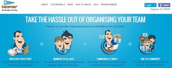 天霸,社会组织和管理团队的平台
