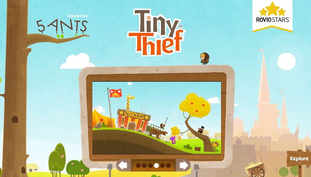 Tiny Thief, nuevo juego que llega de las manos de Rovio, creadores de Angry Birds