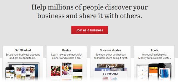 Pinterest para negocios