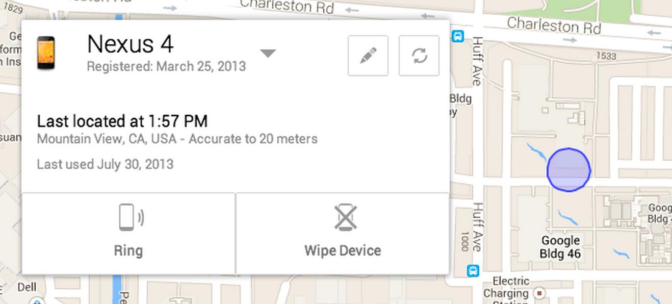 Google lanzará su propia herramienta para el seguimiento de terminales Android extraviados