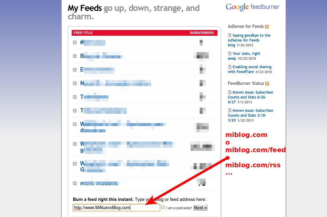 Cómo crear una newsletter para un blog