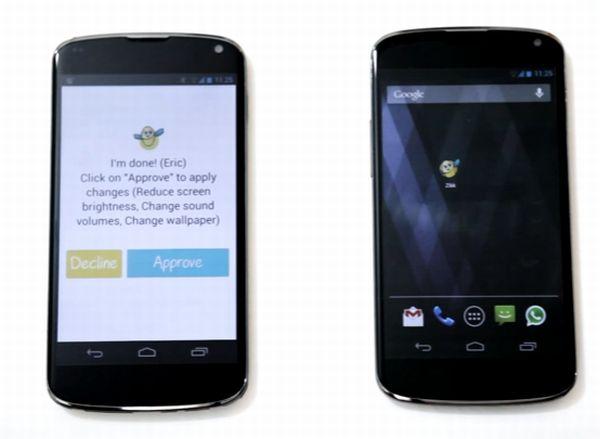 Zikk, configuración remota de teléfonos Android