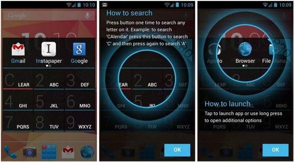 AppDialer, accede a las apps instaladas en tu Android buscando por su nombre
