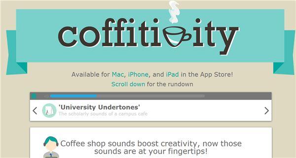 """coffitivity , el """"ruido de cafetería de fondo"""", añade nuevos ambientes"""