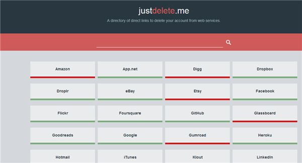 Just Delete Me – Nueva forma de encontrar el camino para borrar cuentas en Internet