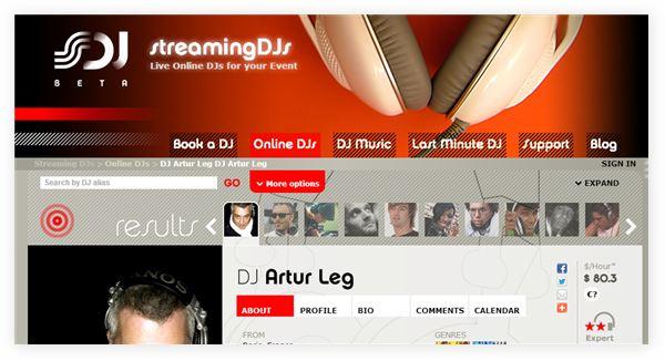 Streamingdjs – Contrata un DJ de cualquier parte del mundo para tu fiesta, sin pagar viaje ni alojamiento