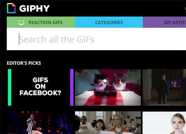 Giphy ahora permite unir un GIF y una URL en un solo enlace, ideal para Twitter
