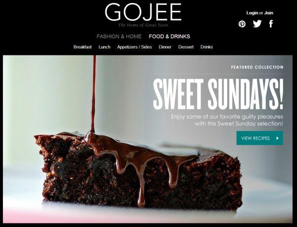 Gojee crea una aplicación independiente para la categoría de comida y bebida [iOS]