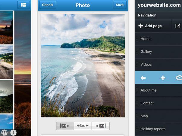 Jimdo lanza aplicación para hacer y editar sitios desde el iPhone y iPad