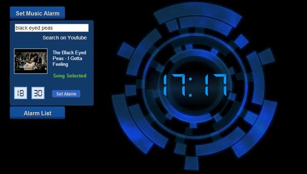 online music alarm clock