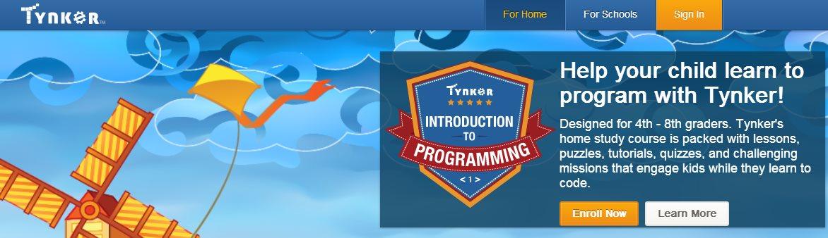 Tynker, introducción a la programación para los pequeños