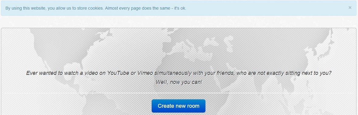 Sync Video, crea salas para ver vídeos de Youtube y Vimeo simultáneamente