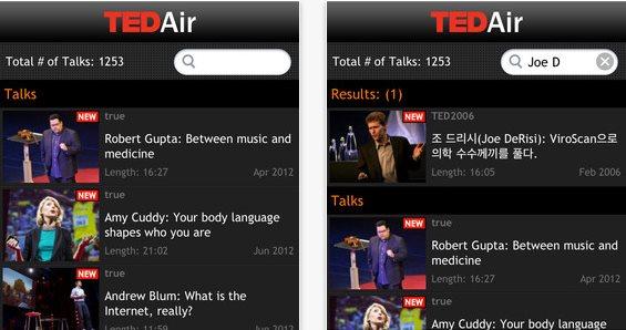 TED Air, la app ideal para conocer más sobre cualquier tema