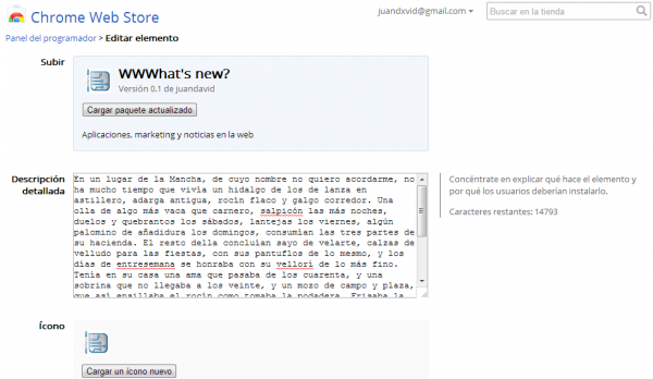 wwwhatsnew chrome web app