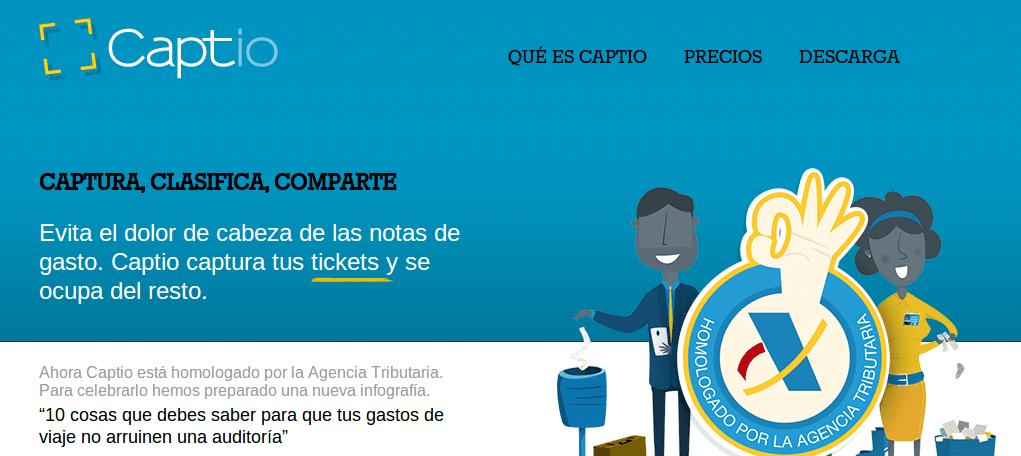 Captio, para digitalizar tickets, homologada por la Agencia Tributaria