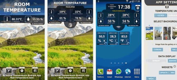 Termómetro Real Galaxy S4