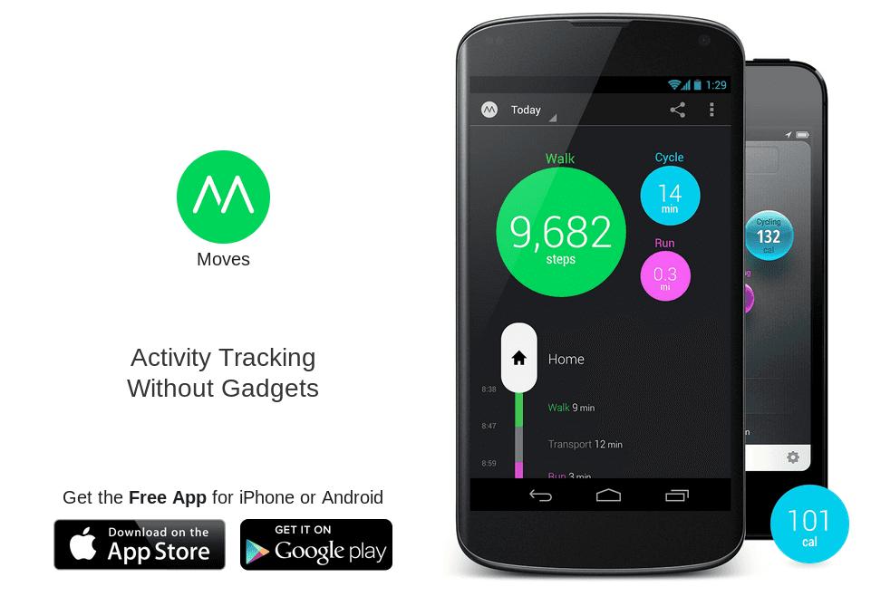 Moves llega a Android, monitorizando nuestra actividad física