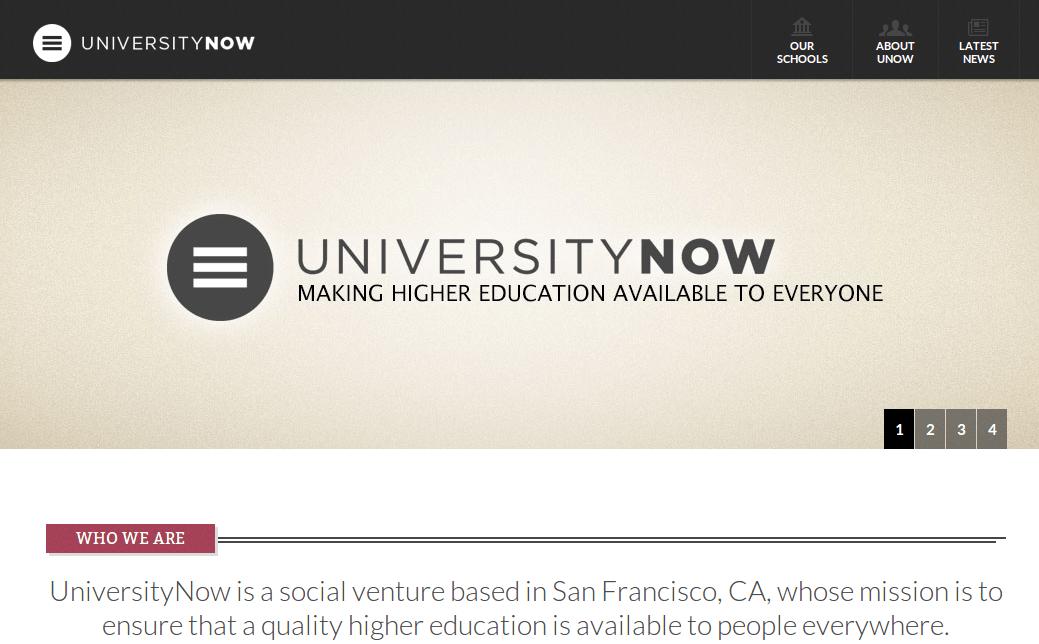 UniversityNow comenzará a ofrecer carreras universitarias completas vía web