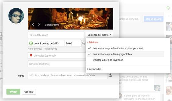 eventos google+