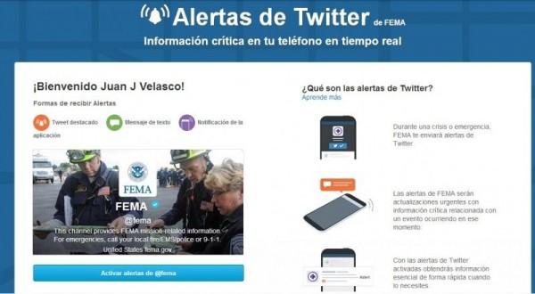 ejemplo twitter alerts