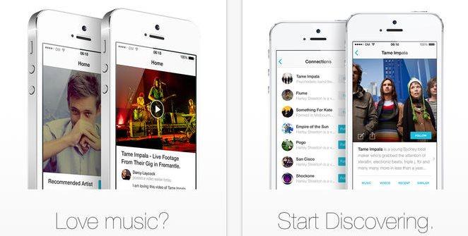 Discovr, la app musical en iOS, se actualiza y recibe soporte para Rdio y Spotify