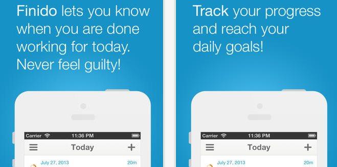 Finido, la aplicación que administra tu trabajo diario y controla tu estrés