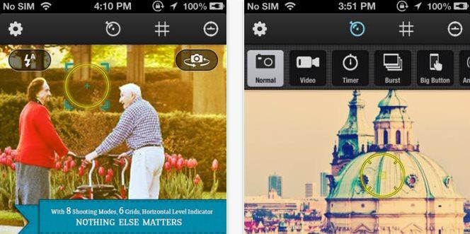 Zitrr Camera, edición de foto en iOS con extensas opciones y retoques