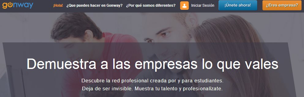 Gonway, la red profesional por y para estudiantes, renovada