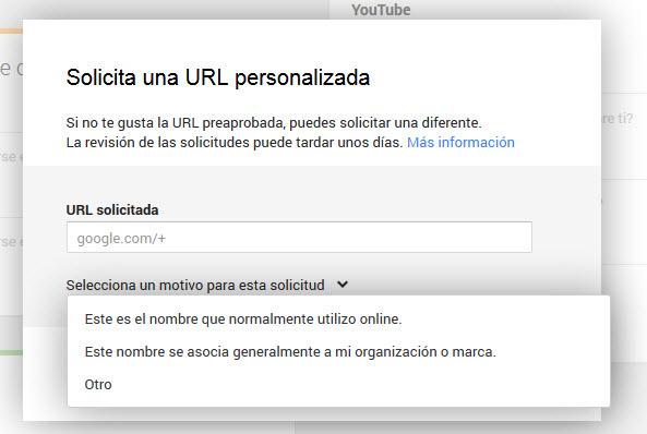 URL personalizadas