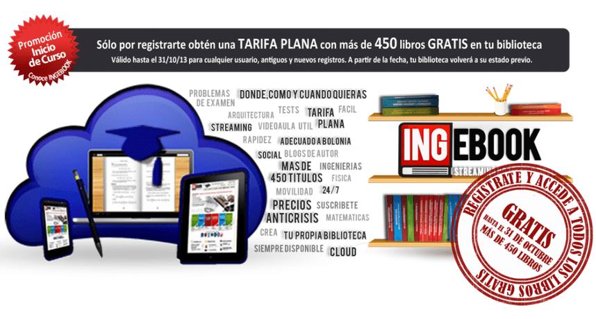 ingebook – Accede gratis a más de 450 libros de arquitectura, ingeniería y ciencias