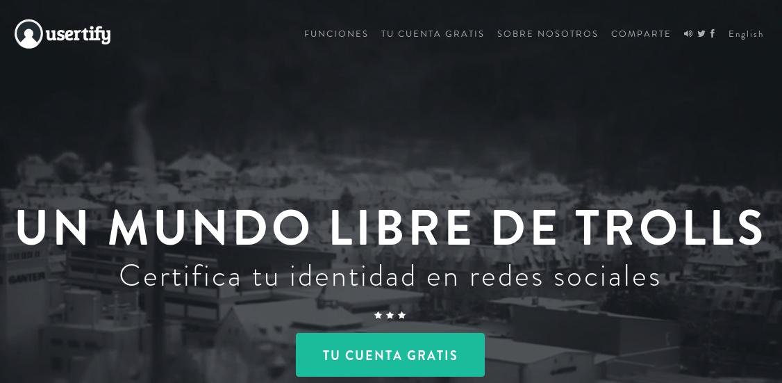 usertify – Un proyecto para tener bajo control a los trolls en Internet