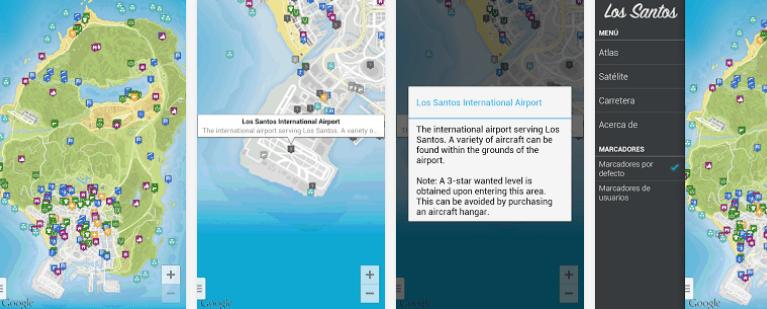 El mapa de GTA V en tu dispositivo Android