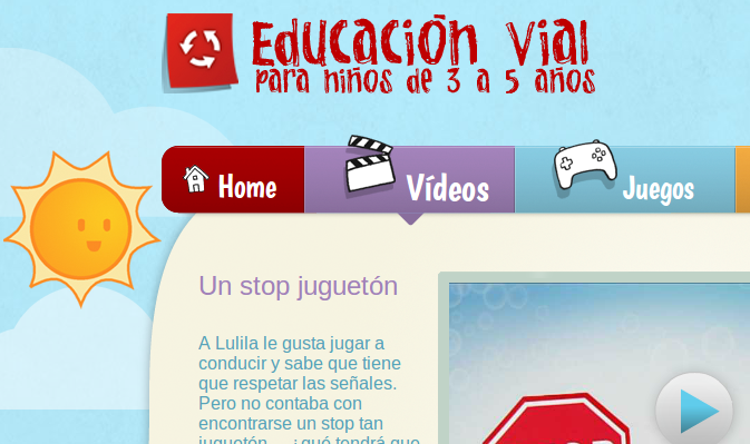 Libros gratuitos y actividades online sobre seguridad vial, para niños