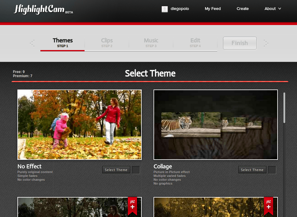HighlightCam, para crear vídeos desde web, Android, iPad y iPhone