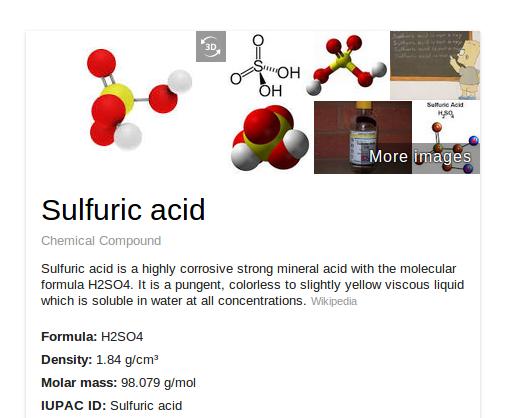 Google ya muestra modelos en 3D de compuestos químicos