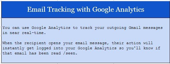inicio email tracking
