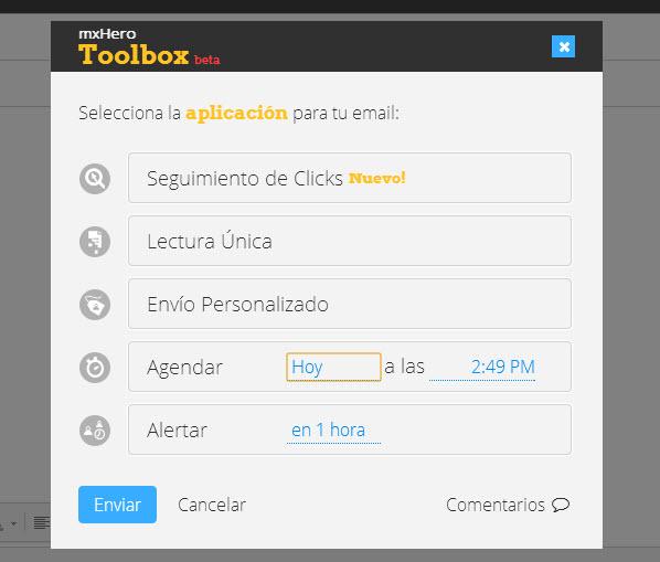 MxHero potencia Gmail con cinco funciones adicionales