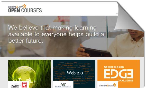 Nuevas propuestas en cursos universitarios gratuitos desde Desire2Learn