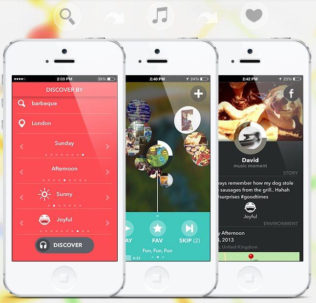 Música adecuada a cada momento que vivimos [iOS]