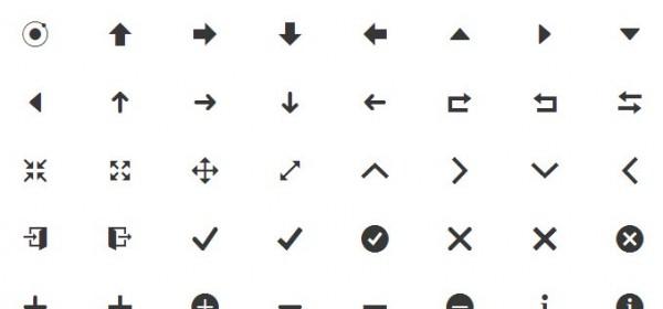 fuente de iconos