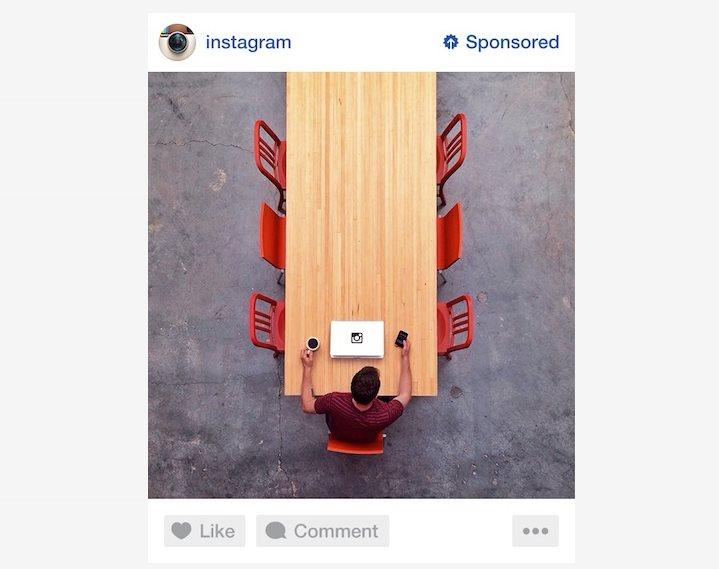 Instagram nos muestra el aspecto de sus fotos patrocinadas