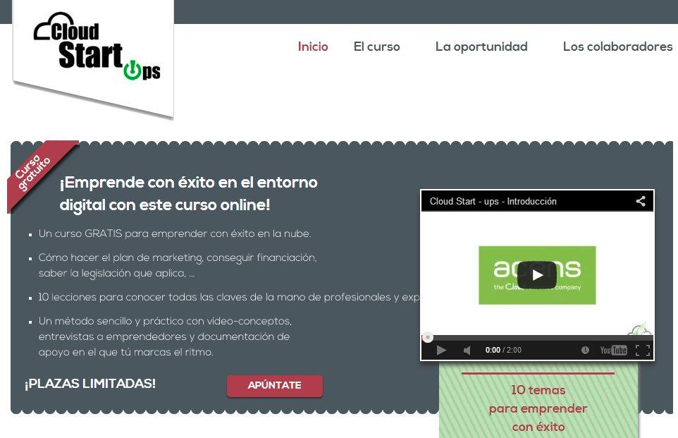 Nuevo curso gratuito online para emprender con éxito en Internet
