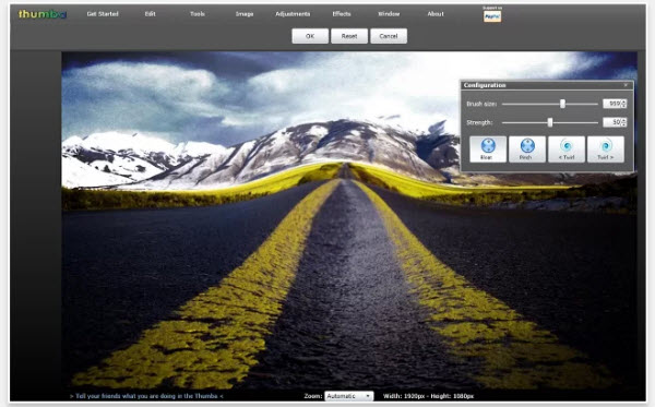 Dos opciones para editar fotografías desde Chrome