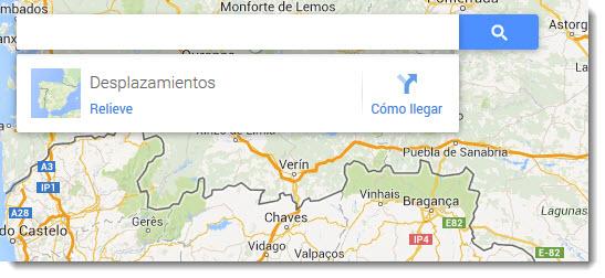 Cómo buscar en Google Maps